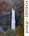 【日本の滝100選】紅葉の華厳の滝 38939424