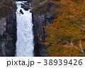 【日本の滝100選】紅葉の華厳の滝 38939426