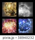 ディスコ ボール 玉のイラスト 38940232