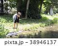 小学生シリーズ ザリガニ釣り 38946137