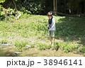 小学生シリーズ ザリガニ釣り 38946141