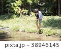 小学生シリーズ ザリガニ釣り 38946145