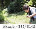 小学生シリーズ ザリガニ釣り 38946148