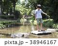小学生シリーズ ザリガニ釣り 38946167