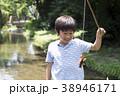 小学生シリーズ ザリガニ釣り 38946171