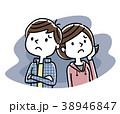 男の子と女の子:不安、心配 38946847