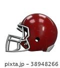 ヘルメット かぶと アメリカンフットボールのイラスト 38948266