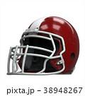 ヘルメット かぶと アメリカンフットボールのイラスト 38948267