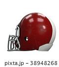 ヘルメット かぶと アメリカンフットボールのイラスト 38948268