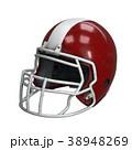 ヘルメット かぶと アメリカンフットボールのイラスト 38948269
