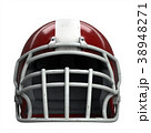 ヘルメット かぶと アメリカンフットボールのイラスト 38948271