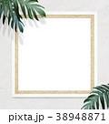 フレーム 壁 白壁のイラスト 38948871