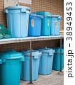 集合住宅のゴミ置き場 38949453