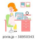 診療する女性 38950343