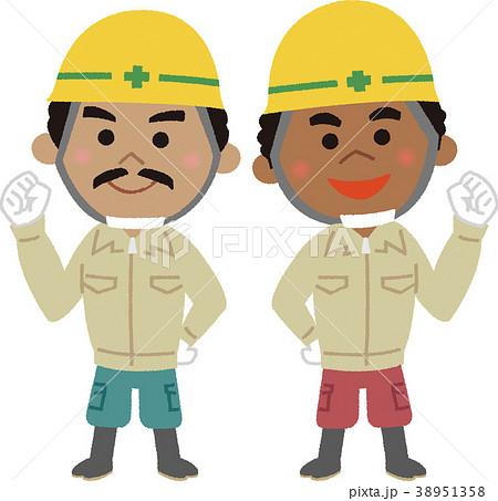 イラスト素材 外国人労働者のイラスト素材 38951358 Pixta