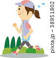 イラスト素材 ジョギング 38951802