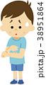 イラスト素材 蚊に刺される 38951864