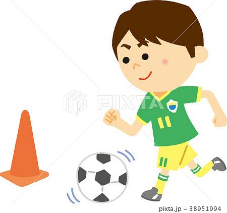 イラスト素材 サッカー教室 38951994