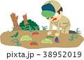 男性 農作物 被害のイラスト 38952019