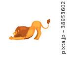 ライオン 動物 ベクターのイラスト 38953602