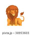 ライオン 動物 ベクターのイラスト 38953603