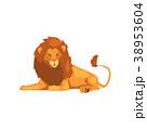 ライオン 動物 ベクターのイラスト 38953604