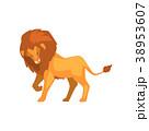 ライオン 動物 ベクターのイラスト 38953607