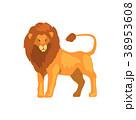 ライオン 動物 ベクターのイラスト 38953608