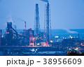 製鉄所の夜景【福岡県北九州市】 38956609