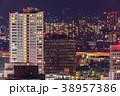 小倉中心街の夜景【福岡県北九州市】 38957386