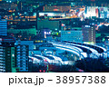 小倉中心街の夜景【福岡県北九州市】 38957388
