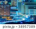小倉中心街の夜景【福岡県北九州市】 38957389