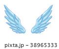 翼のイラスト 羽 羽根 翼 鳥 天使 38965333