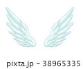 翼のイラスト 羽 羽根 翼 鳥 天使 38965335
