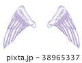 翼のイラスト 羽 羽根 翼 鳥 天使 38965337