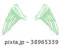 翼のイラスト 羽 羽根 翼 鳥 天使 38965339