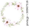 花輪 フラワー 花のイラスト 38967516
