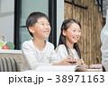 勉強 ダイニングキッチン ライフスタイルの写真 38971163