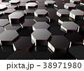 6角形 遠景 遠近感のイラスト 38971980