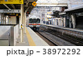 中津川駅 電車 ホームの写真 38972292