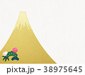 正月 新年 富士のイラスト 38975645