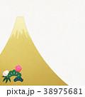 正月 新年 富士のイラスト 38975681