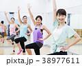 エアロビクス フィットネス エアロビ スポーツジム 女性 エクササイズ 38977611