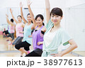 エアロビクス フィットネス エアロビ スポーツジム 女性 エクササイズ 38977613