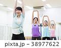 エアロビクス フィットネス エアロビ スポーツジム 女性 エクササイズ 38977622