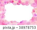 桜 春 フレームのイラスト 38978753