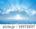 Bright light from heaven, light of hope  38978897