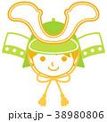 子供の日 端午の節句 子供のイラスト 38980806