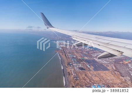航空写真・空撮 北海道苫小牧上空 38981852