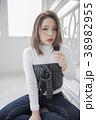 女性 ポートレート 女の子の写真 38982955